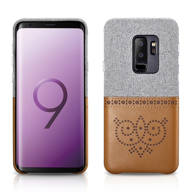 Samsung galaxy S9 Plus Brogue Series Card Slot Back Cover